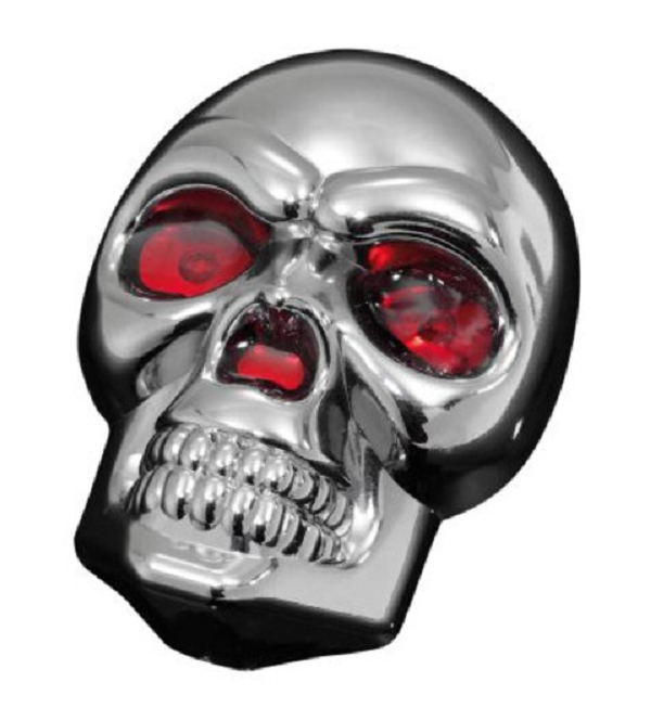 Skull head with Red Eyes LED