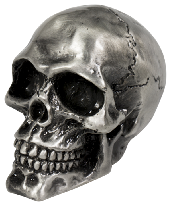 SKULL ORNAMENT Cracked